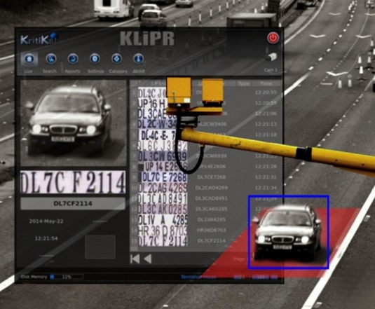 KLiPR - KritiKal License Plate Reader