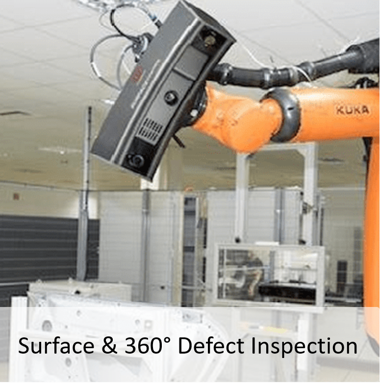 Surface and 360° Defect Inspection