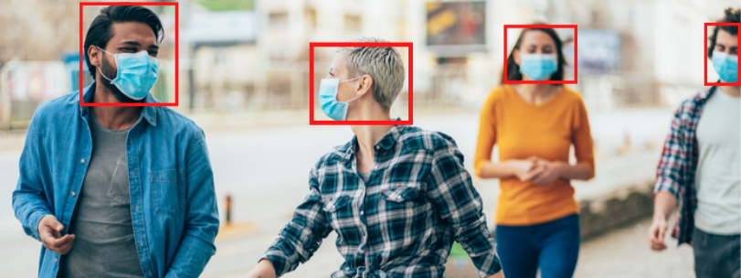 Vision System to Detect Face Mask