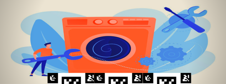 Vision System to Track the Displacement of Washing Machine